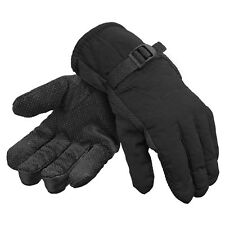 Men's Waterproof Outdoor Warm Winter Gloves  Fleece Lining One Size