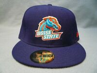 New Era 59fifty Boise State Broncos Solid AC FITTED BRAND NEW cap hat  BSU