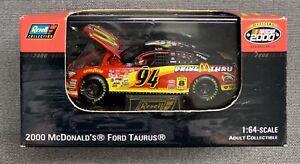 REVELL NASCAR 2000  #94 BILL ELLIOTT 2000 McDONALD'S FORD TAURUS - 1:64 SCALE