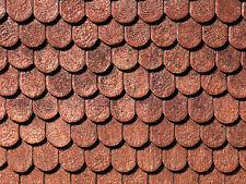 NOCH 67700 Spur G, Dachplatte Biberschwanz, 39x29cm (Grundpreis 1qm=227,73 Euro)