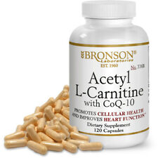 Bronson Acetyl L-Carnitine with CoQ10, 120 Capsules
