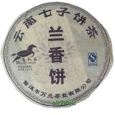 2008 Pure Old Tree Orchid Fragrance Qizi Tea Cake Superior Pu'er Ripe Tea 357g