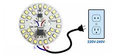 High Power DEL Chip 15 W directement 230 V Blanc Chaud Alimentation pas nécessaire