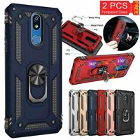 For LG Aristo 3/3 Plus/Phoenix 4/Tribute Dynasty/Empire Case+Screen Protector