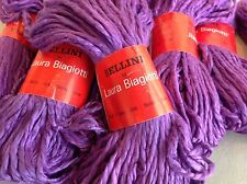 BELLINI BY LAURA BIAGIOTTI HANDSPUN SILK ONE SKEIN PURPLE MAGENTA  23 Available