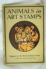 1926 Toledo Zoological Society Poster Stamp Book w/ Complete Set 120 Stamps