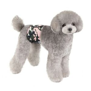 1pc Male Dog Physiological Pants Washable Belly Wrap Band Breathable Diaper S-XL