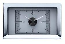 Dakota Digital 57 Chevy Car Analog Clock Gauge for HDX gauges Silver HLC-57C-S