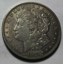United States 1921 Morgan Silver One Dollar Coin