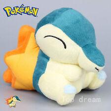 New Pokemon Cyndaquil Plush Toy Soft Stuffed Animal Doll 13.5cm Teddy Kids Gift
