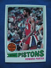 1977-78 Topps Howard Porter Pistons card #102 basketball $1 S&H