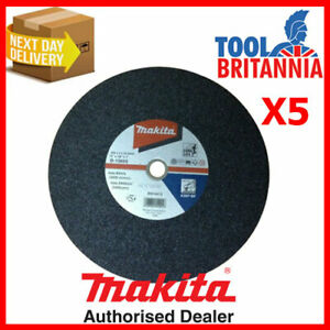 """Makita Metal Cutting Disc 355mm 14"""" Pack of 5 ( = Only £5.59)"""
