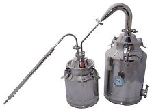 """8 Gallon Moonshine Still with Stainless 2"""" Pot Still Column and 3 Gallon Thumper"""