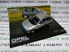 voiture 1/43 IXO eagle moss OPEL collection n°80 : CORSA B 1993/2000
