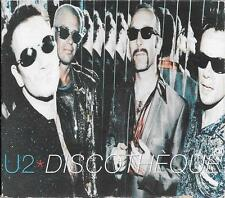 MAXI CD SINGLE 3 TITRES DIGIPACK--U2--DISCOTHEQUE / HOLY JOE--1997