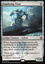 Sundering Titan foil | nm | masters 25 | Magic mtg