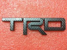 Carbon Fiber Plastic T RACING DEVELOPMENT Car Trunk Decal Badge Emblem Sticker