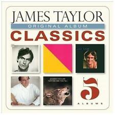 JAMES TAYLOR Original Album Classics [Box] new 5 CD (Soft Rock) (CD, 5 Discs)