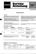 Grundig Original Service Manual für Sono-Clock 500 a