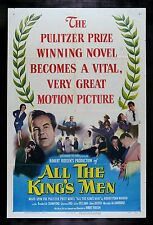 ALL THE KING'S MEN * CineMasterpieces ORIGINAL MOVIE POSTER BEST PICTURE 1949