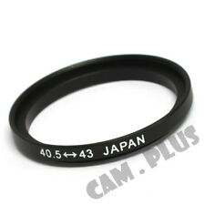 40.5-43mm Step-Up Metal Lens Adapter Filter Ring / 40.5mm Lens to 43mm Accessory