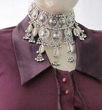 SeaShell Statement Choker Necklace Collar Vintage Boho Gypsy Tribal Jewelry Gift