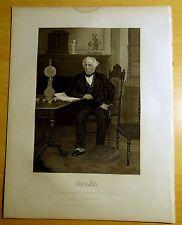 Antique Print 1864 JAMES KENT Steel Engraving PORTRAIT
