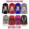 Kids Xmas Christmas Jumper Childrens Boys Girls Sweater Minion Rudolph Jumper