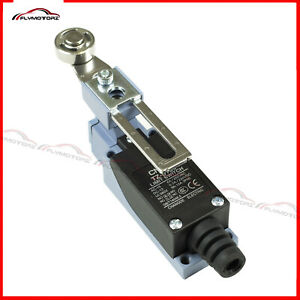 1 Pcs AC/DC Rotary Adjustable Metal Roller Lever Enclosed Momentary Limit Switch