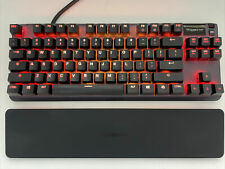 SteelSeries Apex Pro TKL (64734) Wired Keyboard with Wrist Rest OLED Gaming