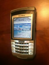 BlackBerry 7100g - Metallic Silver (Cingular) Smartphone - For Parts