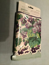 Waverly Garden Room Purple Sweet Violets Shaped Wallpaper Border 15 Ft New Seale