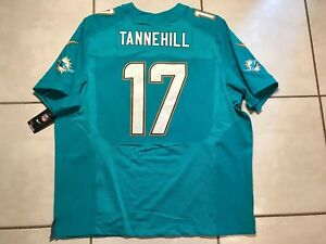 NWT NIKE ELITE Miami Dolphins Ryan Tannehill NFL Jersey Size 60 MSRP $295