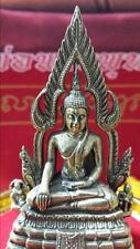 Phra Phut Chinarat Thai Buddha Amulet With Stand