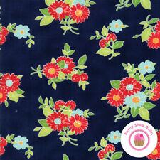 Moda THE GOOD LIFE Navy Floral 55151 16 Bonnie & Camille QUILT FABRIC