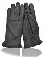 WOMEN'S LUXURIOUS LEATHER THINSULATE DRIVING GLOVES OUTDOOR SPORTS WARM