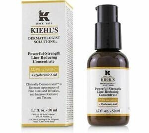 Kiehl's Powerful-Strength Vitamin C Serum 12.5% New in Box 1.7Oz Batch 18S RP 68