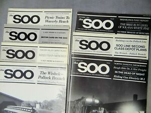 Soo Line Railroad Historical Magazines 7 Issues 1980's