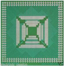 Universal SMD tablero del PWB QFP52-QFP184 71 X 73.5 mm de componentes electrónicos DIP