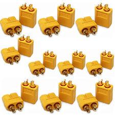 20PCS 10 Pairs XT60 Male & Female Bullet Connectors Plugs for RC Lipo Battery