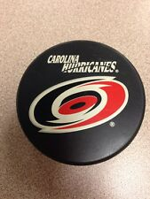 Officially Licensed NHL Carolina Hurricanes Logo Puck