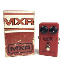 MXR Dyna Comp Vintage Guitar Effects Pedal Compressor with Original Box Block