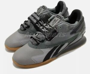 Reebok Legacy Lifter II Gum Men Size 11.5 Weightlifting Training Shoes FY3537
