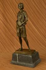 Art Deco Hot Cast Teacher Bronze Sculpture School Home Decor Figurine Gift Sale