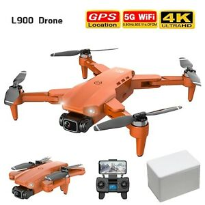 L900 Pro 4k Hd Dual Camera With Gps 5g Wifi Fpv Rc  Drone Foldable Quadcopter UK