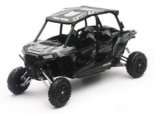 POLARIS RZR XP Turbo Eps QUAD ATV Negro Escala 1:18 de NewRay