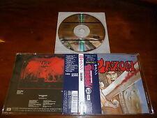 Saxon / ST JAPAN TOCP-8371 1ST PRESS BURRN! Legendary Masters 33 A4