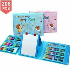 Kids Colouring Set Drawing Set 150-208PCS Art Case Pencils Painting Childrens