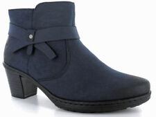 Stivali e stivaletti da donna blu Rieker con tacco medio (3,9-7 cm)