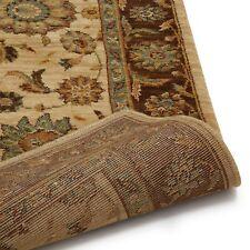 John Lewis LIVING TREASURES 100% Wool LI05 RUNNER Rug Beige 168 x 107 cm NEW